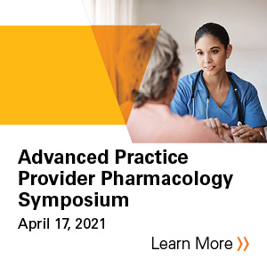 2021 VCU Advanced Practice Provider Pharmacology Symposium Banner